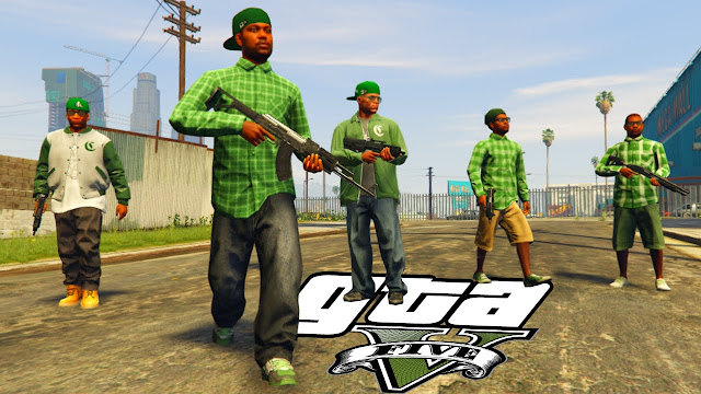 Grove Street vs Ballas