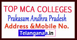 Top MCA Colleges in Prakasam Andhra Pradesh