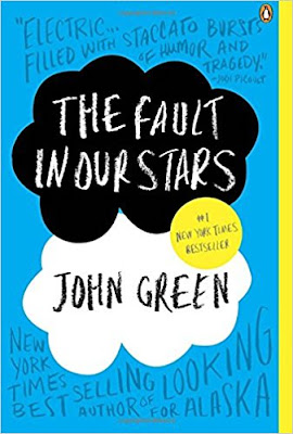 The Fault in Our Stars by John Green (Book cover)