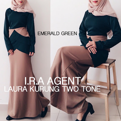 Laura Kurung Two Tone Murah Giler , borong Laura Kurung Two Tone  , Laura Kurung Two Tone , borong Laura Kurung Two Tone murah, harga borong, dress lawa, pemborong maxi dress,