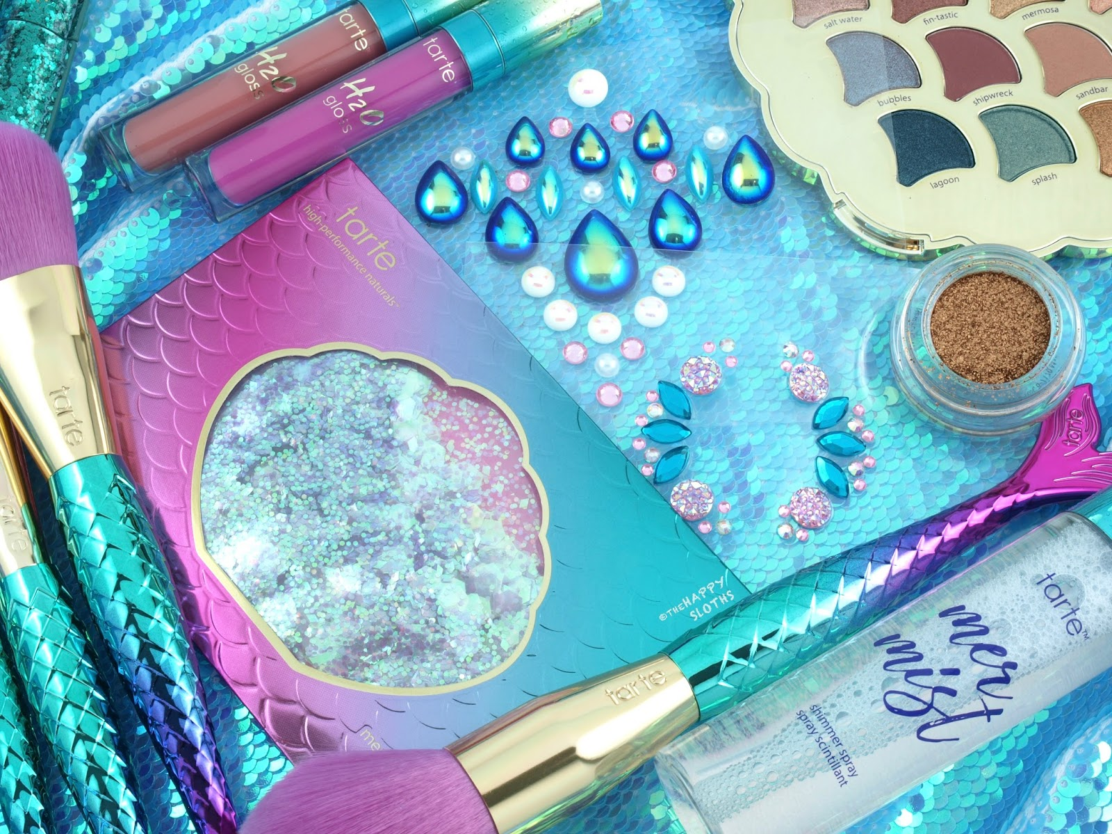 Tarte Mermaid Collection | Mermaid Body Jewels, Face Jewels & Sea-quins: Review