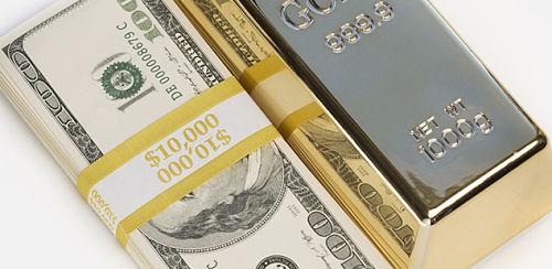 Precio del oro baja tras avance del dólar