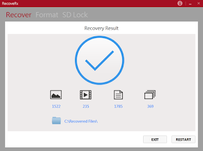 RecoveRx 3.8.0