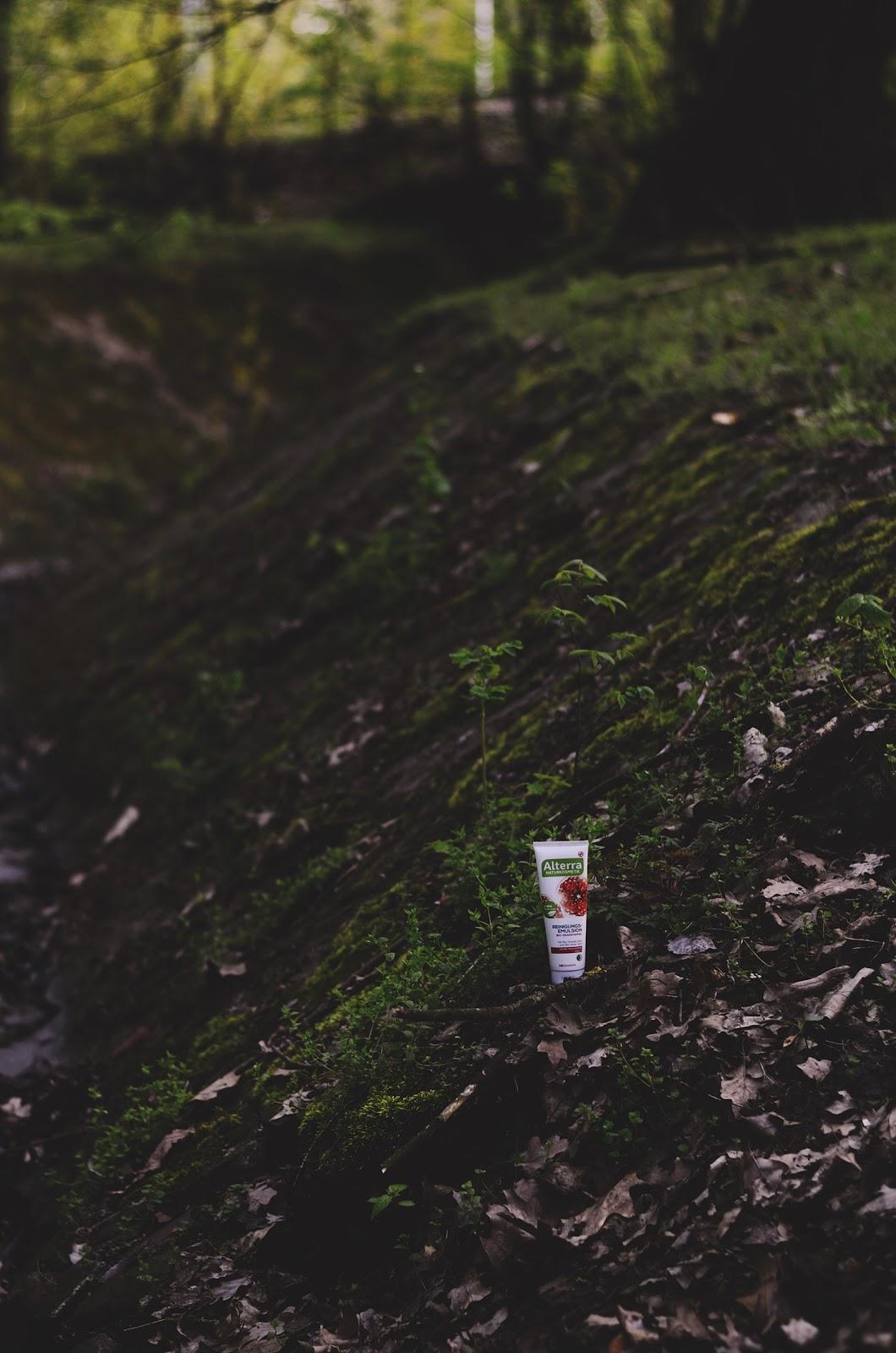 Łagodne oczyszczenie w rozsądnej cenie | Alterra, Reinigungs - Emulsion Bio - Granatapfel (Emulsja oczyszczająca z granatem)