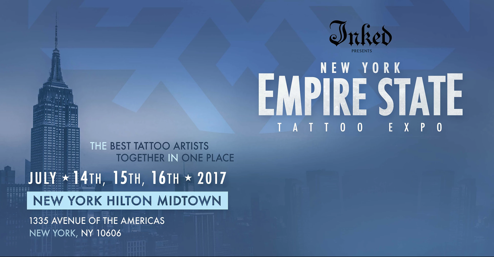 Empire state tattoo expo 2017 tattoos eduardo fernandes for Best tattoo artists in nyc 2017