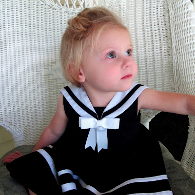 Stella's New Sailor Dress