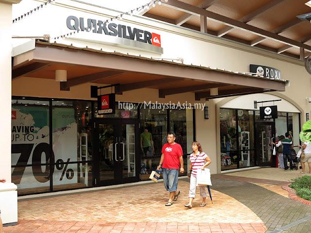 Malaysia Quicksilver Outlet