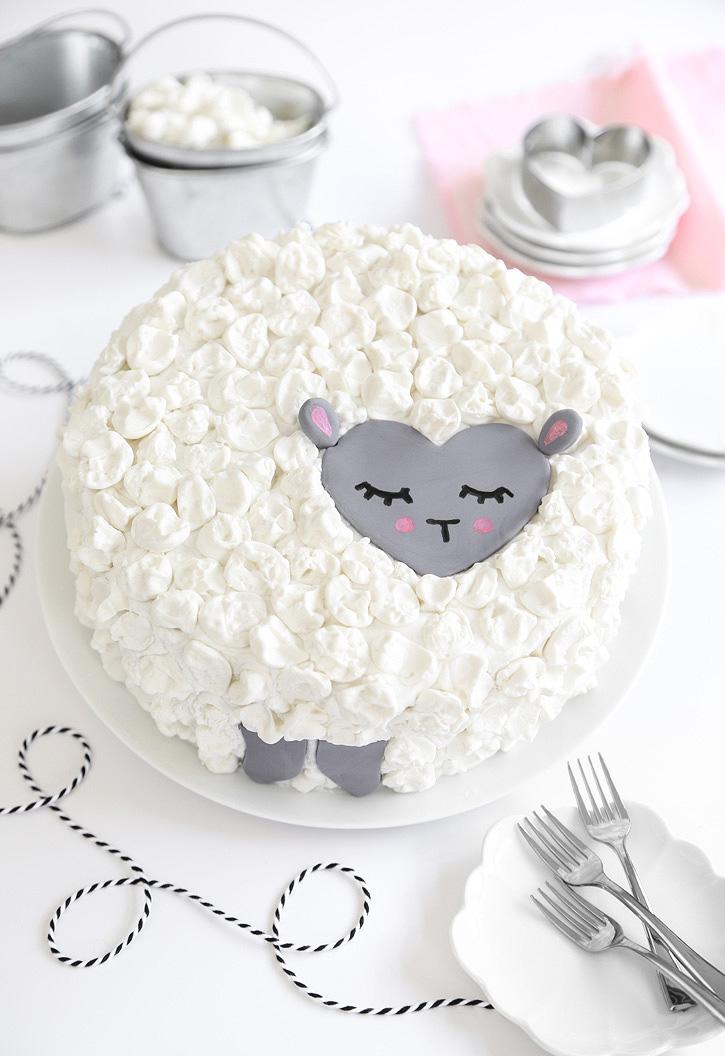 Love Ewe Coconut Cake (vegan)