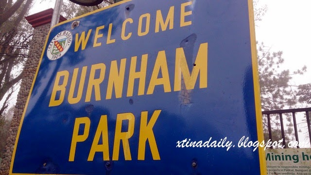 Burnham Park Sign
