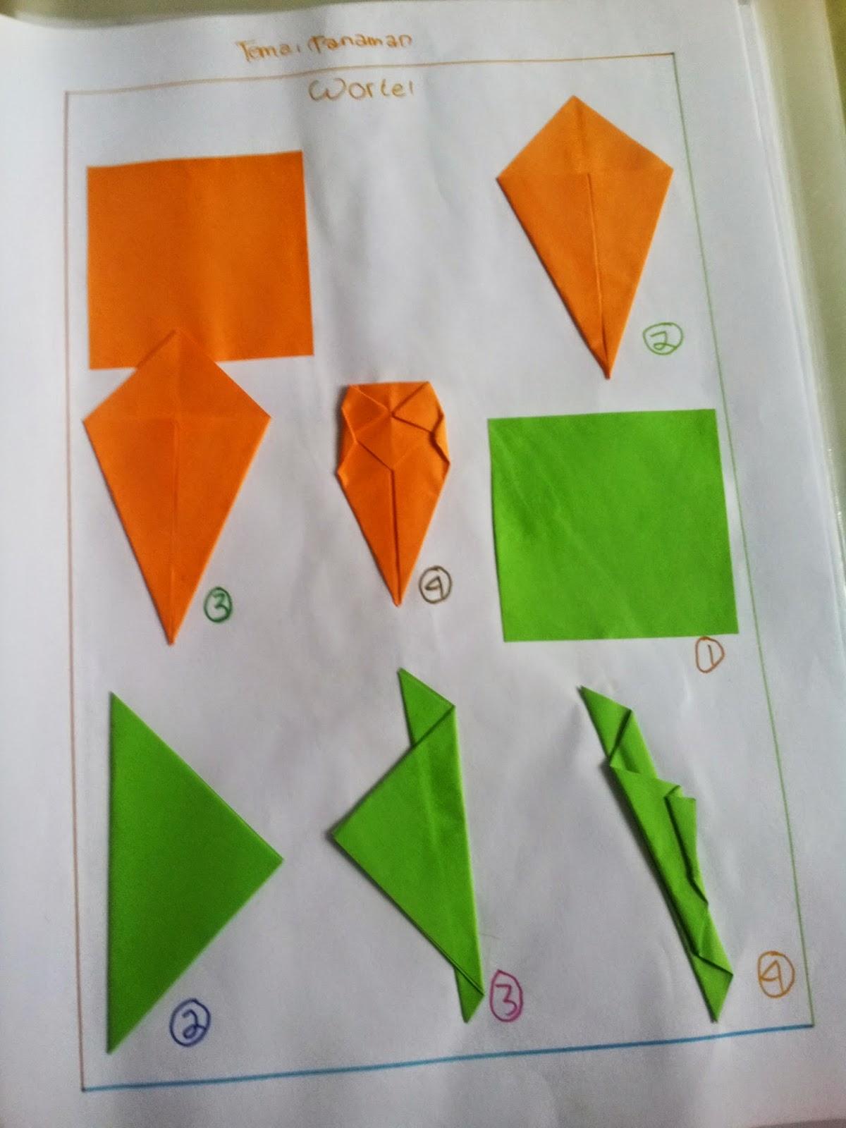 Rahmi Syah Putri CaraCara Melipat Origami Sesuai dengan
