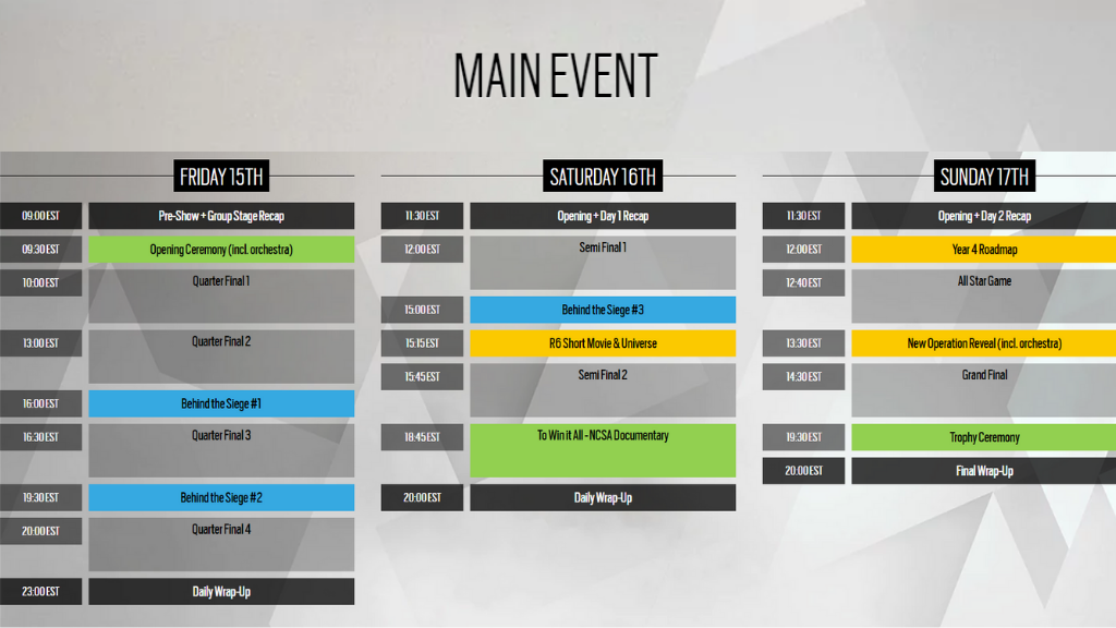Six invitational 2019 schedule