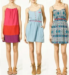 3 vestidos de playa de zara