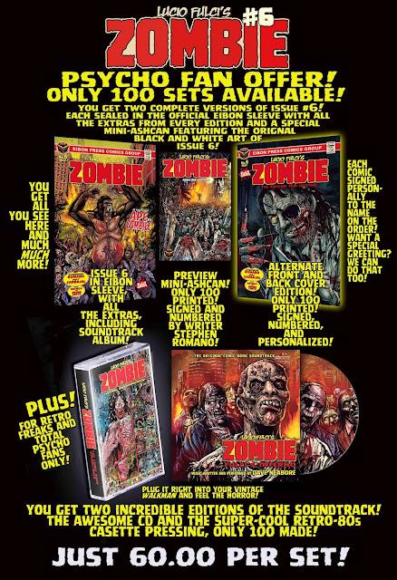 Lucio Fulci's ZOMBIE #6: Psycho fan