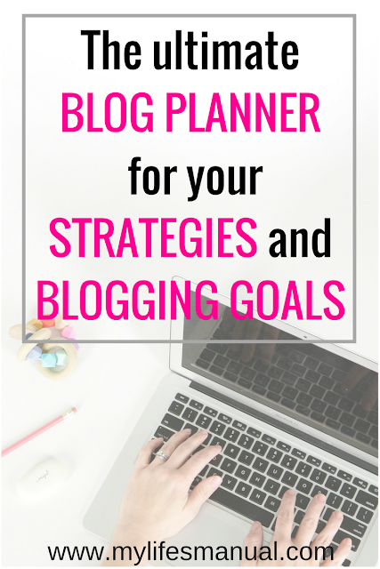 Blog Planner for new bloggers