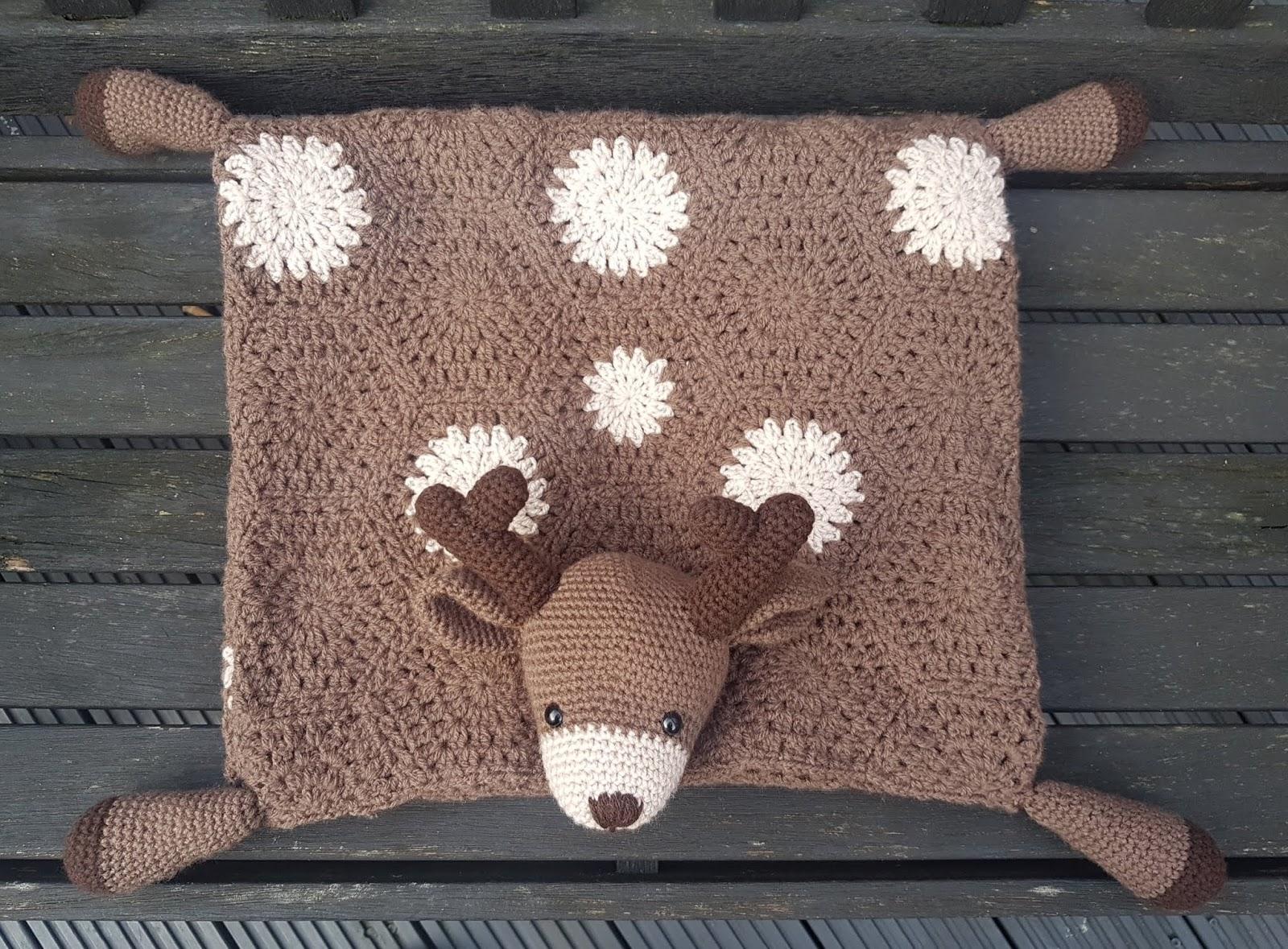 Crochet Pattern: 3 in 1 Decorative Woodland Deer Toy Baby