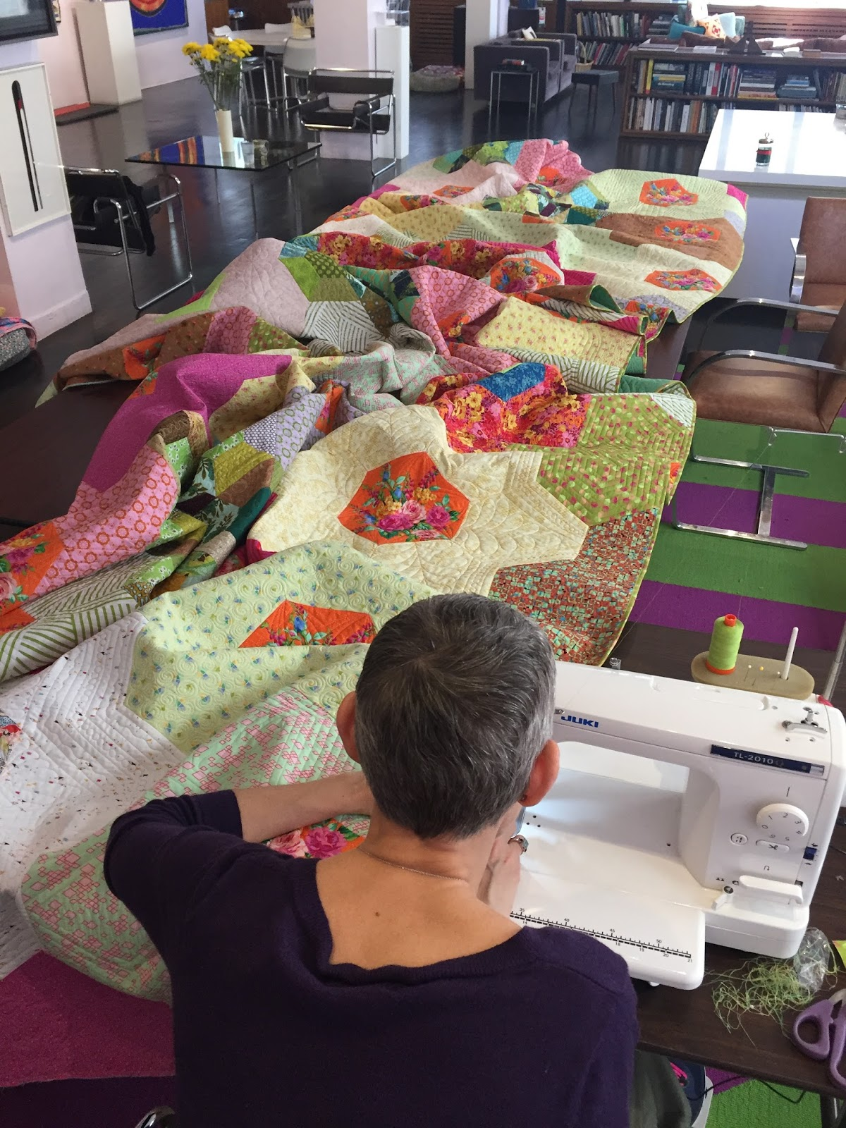 A Garden for All Seasons! – Victoria Findlay Wolfe Quilts : all season quilt - Adamdwight.com
