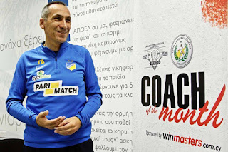 Winmasters προπονητής του Μήνα, ο Γιώργος Δώνης