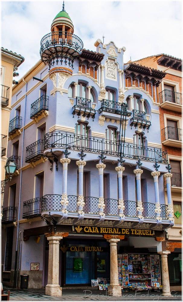 Teruel. modernismo