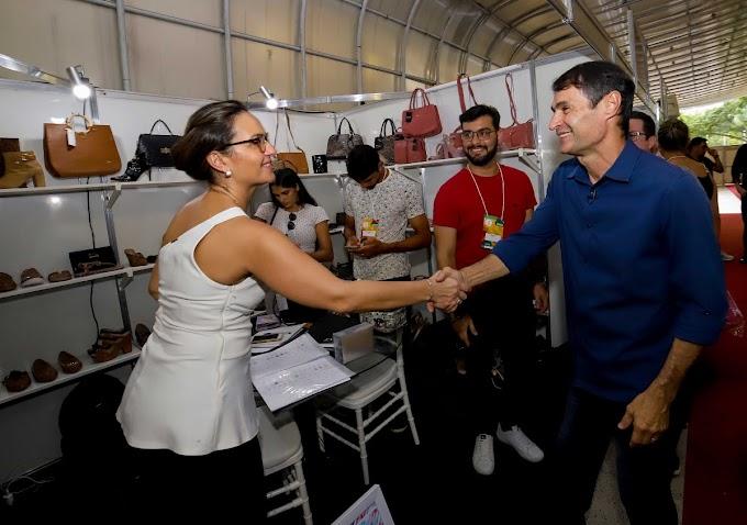 Romero prestigia abertura do Gira Calçados 2019 e destaca importância do evento
