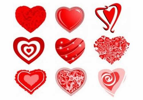 Love Heart Vector Icons