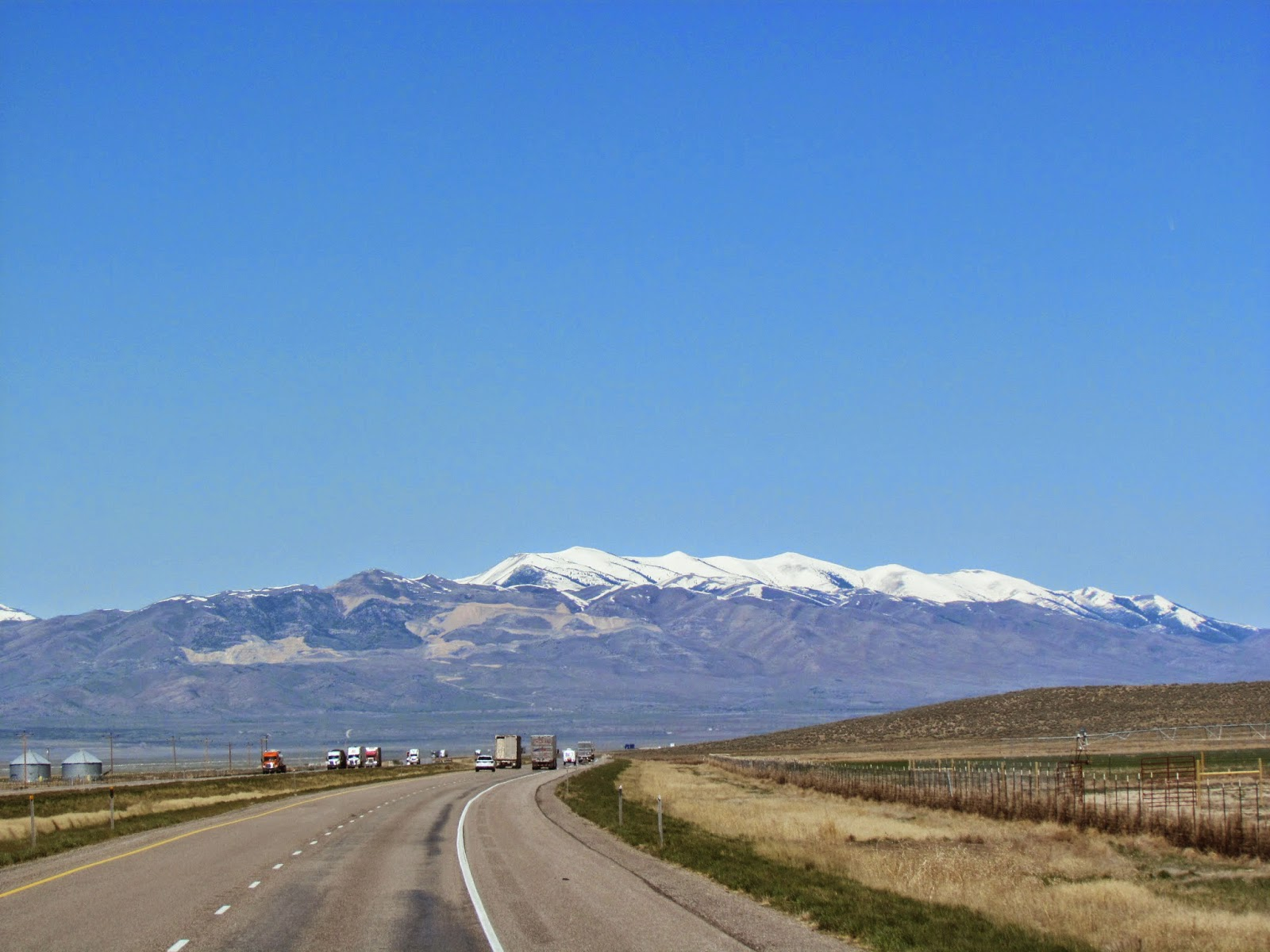 Hardts On The Highway: Snowville, Utah, to Meridian, Idaho