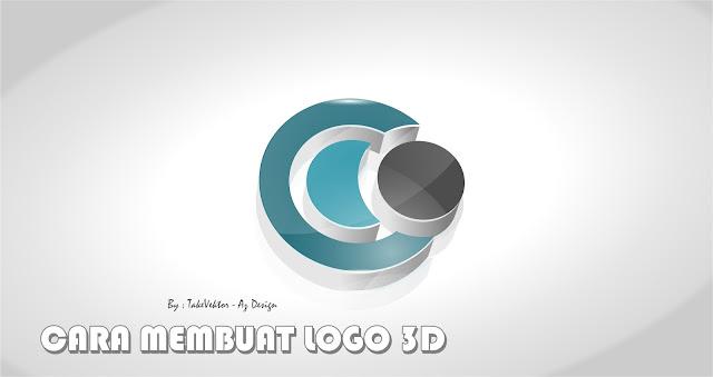 Cara Membuat Logo 3D