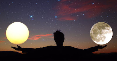 Sun and Moon Equal Divine Balanced Opposites Sun-moon-balance