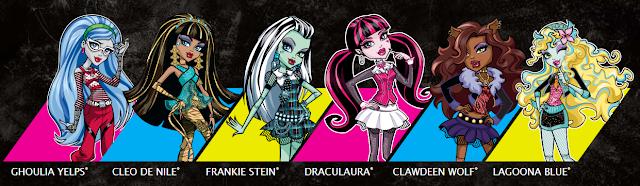Monster High personaggi