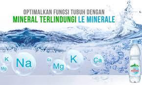 mineral sumber mata air le minerale