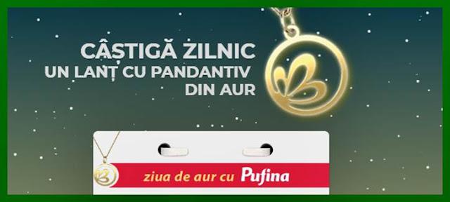 castiga zilnic un lant de aur concurs Ziua de aur cu Pufina
