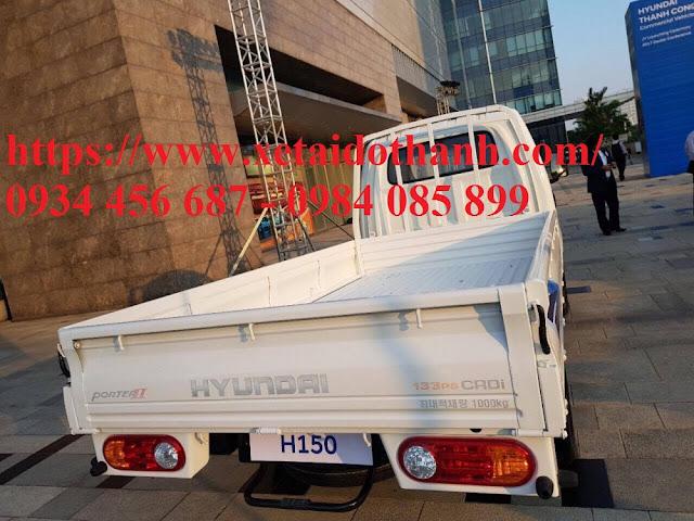 Xe Hyundai Porter H150 thùng lửng