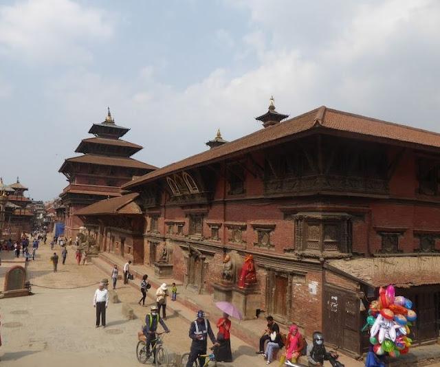 palazzo reale in durbar square a Patan