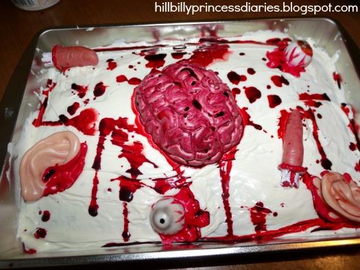 The Hillbilly Princess Diaries Diy Zombie Party Decor