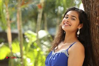 Actress Prasanna Stills in Blue Short Dress at Inkenti Nuvve Cheppu Movie Platinum Disc Function  0242.JPG