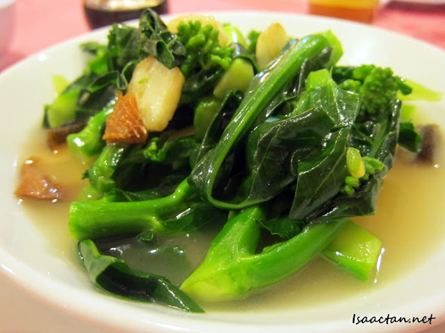 Stir Fried Kai Lan CRC Restaurant