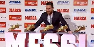 يلا شوت الجديد ميسي بعد الفوز بالحذاء الذهبي : زملائي من فازوا بالجائزة وليس أنا .. ومباراة ليون ستكون صعبة