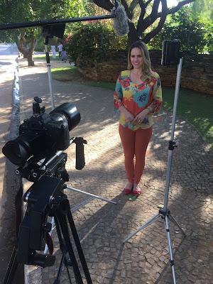 Apresentadora Rafaela Dornas - Divulgação/SBT BRASÍLIA