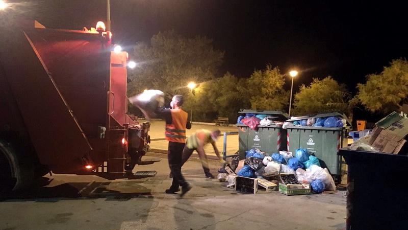 Προσωρινή εκτόνωση του προβλήματος μεταφοράς των απορριμμάτων της Σαμοθράκης