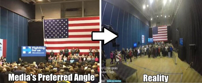 13 Photos Demonstrate How Media Gives A False Idea Of The Truth
