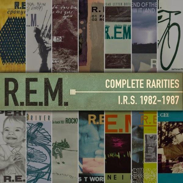 Letter Box Cover B Q: Rock 'n' Roll Times: Discos: R.E.M. Complete Rarities I.R