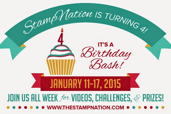 StampNation's 4th Birthday Bash