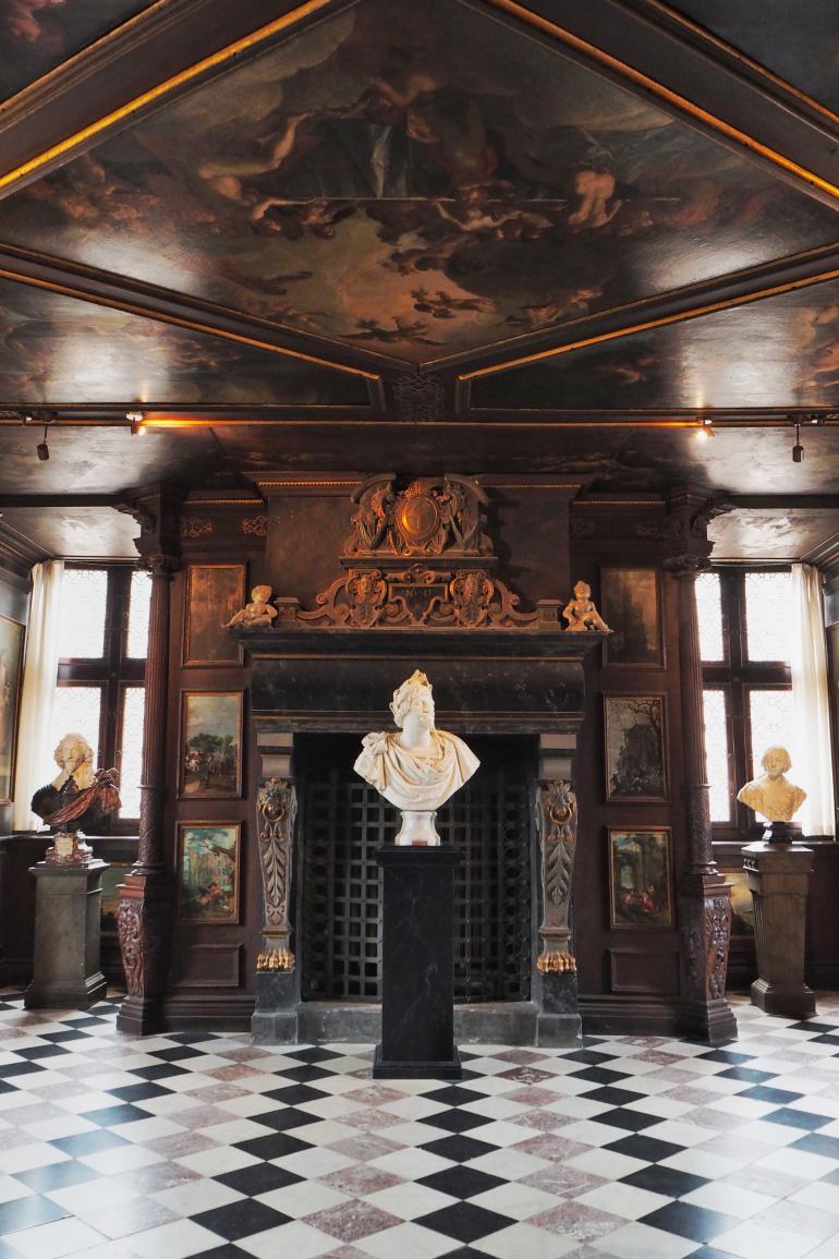 Visite du château de Rosenborg à Copenhague