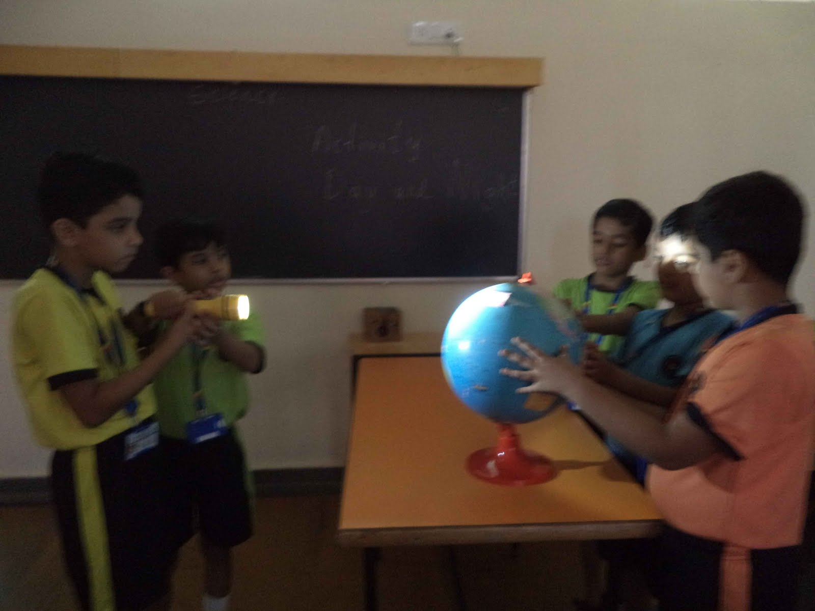 The Rustomjee Cambridge Diaries Grade 3 Science Activity