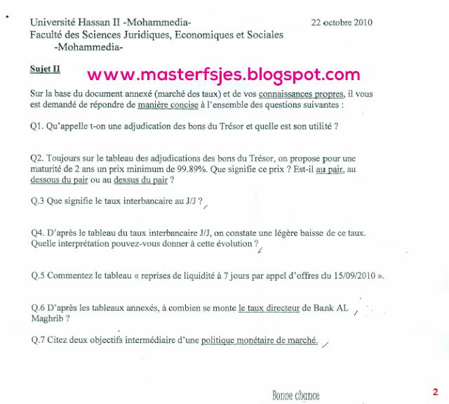Master Finance et Ingénierie Bancaire