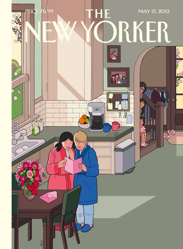 Happy Mothers' Day, by Chris Ware