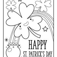 Happy St Patty's Day 2018 Coloring Pages