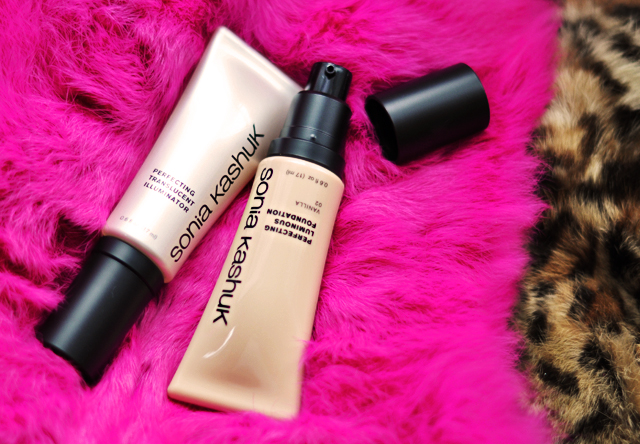 Sonia Kashuk Makeup, luminous foundation and illuminator