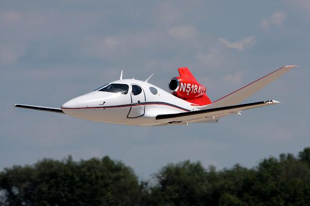 Eclipse 400 Concept Jet While Joy Flight