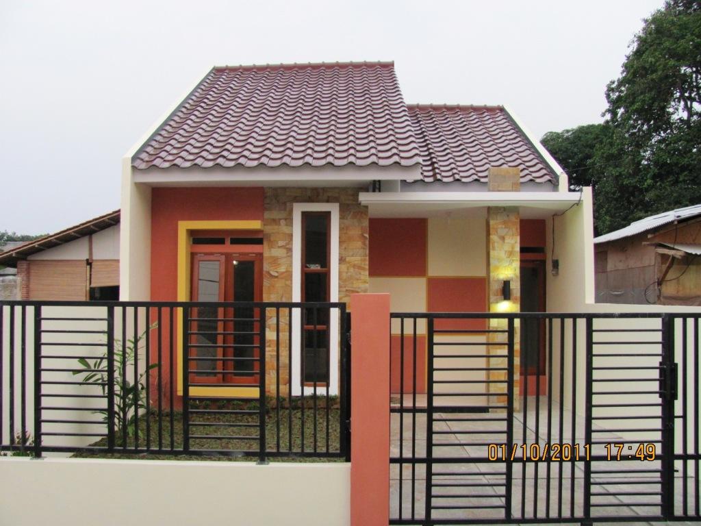 Desain Rumah Minimalis Satu Lantai Pagar Besi