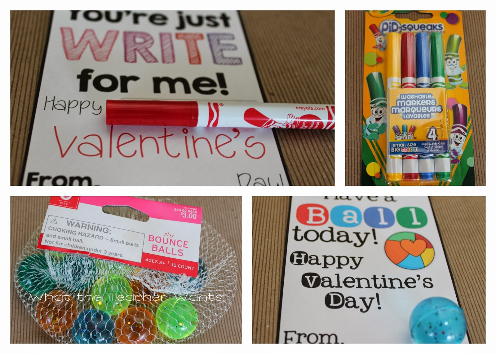 What The Teacher Wants Valentines For Your Students